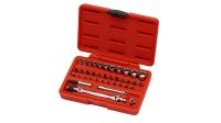 "38 PCS 1/4"" DR. Multi-Function Wrench Set"