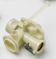 Plastic carburetor for agricultural machines  machines