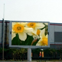 Outdoor Bicolor LED Display