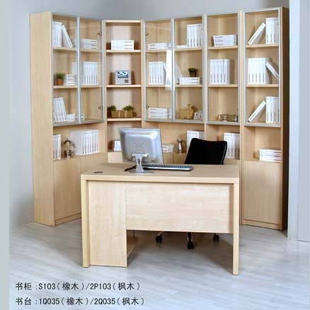 Book Cabinets and Desk