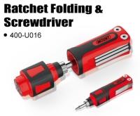 Ratchet Folding & Screwdriver