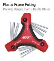 Plastic Frame Folding