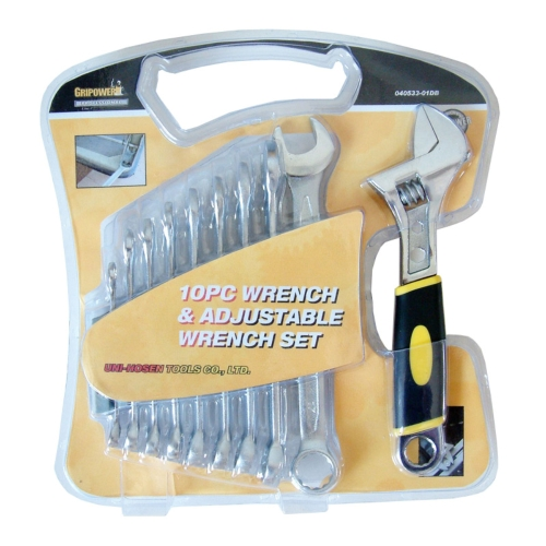 10PC Wrench Set