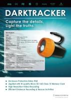 DARKTRACKER 潛水攝影燈