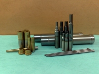 TIN model (golden finish); TiCn model (black finish); TiAlN model (silver-grey finish)