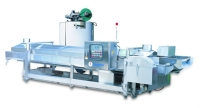 Continuous Oil fryer with External heat Exchanger
