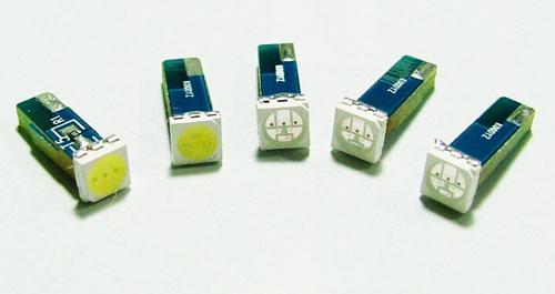 T5, T6.5 1W 儀錶板LED燈泡