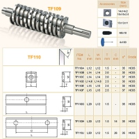 Double-Surfaces Planer –Helical    Planning Cutter