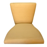 Fabric-Upholstered Bentwood Seats And Backrests
