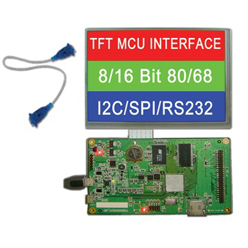 TFT LCD Module with RS232/USB/MCU/SPI Interface