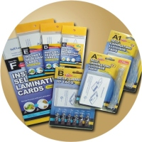 Instant Self-laminating Cards