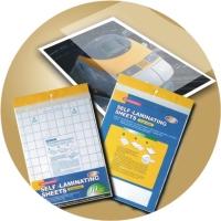 Single-sided Self-laminating Sheet