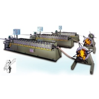 C&Z Cold Rolling Machine for Steel Sheets and Space Frames