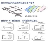 天花板龍骨, C&Z 輕型鋼, 隔間樑滾輪成型