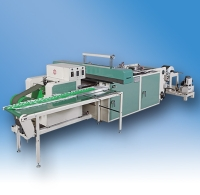 Fully Automatic Bottom Sealing Soft Loop Handle Bag Making Machine