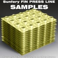 SUNFERY FIN PRESS LINE SAMPLES.