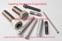 Large Diameter hex bolt, high tensile bolt, socket cap screw, double end studs