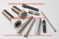 Large Diameter hex bolt, high tensile bolt, socket cap screw, double end studs