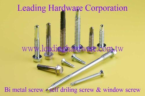 Bi Metal Self Drilling Screw, Bi Metal window Screw
