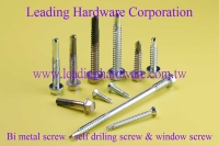 Bi Metal Self Drilling Screw, Bi Metal window Screw