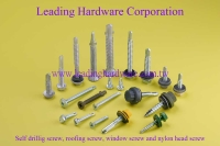 Cens.com Self drilling screw, Roofing screw, window screw, nylon head screw LEADING HARDWARE CORPORATION