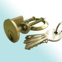 Brass Cylinder with L type Stainless Steel Cam