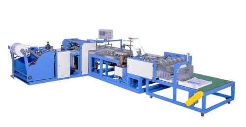 PP编织袋夹子式自动切缝机