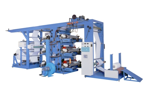 Flexographic Reel to Reel Printing Machine