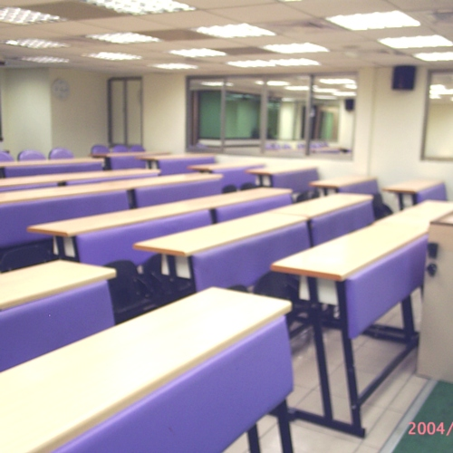 Students' Row Desks and Chairs