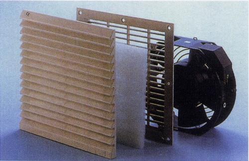 通风过滤网组+冷却扇