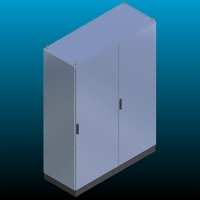 Single Closet With Combined Modules