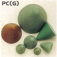 塑胶质圆锥形石