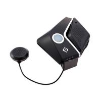 蓝芽耳机前后对讲二合一通讯装置