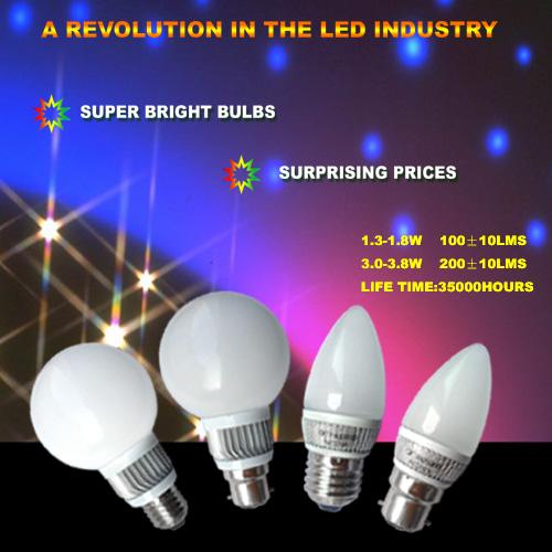 SMD 球泡和射燈
