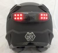 Motocycle Helmet Warning Light