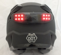 Motocycle Helmet Warning Light