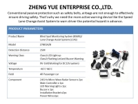 Cens.com Blind Spot Monitoring System / Lane Change Assist System BSMS/LCAS ZHENG YUE ENTERPRISE CO., LTD.