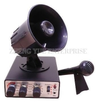 35 Sounds Electronic Siren Horn