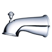Tub Spout with Front Diverter