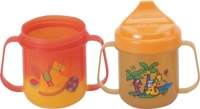 Non-spill & discolored training cup