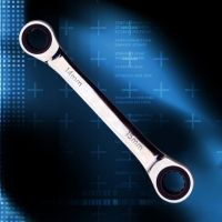 Double Box End Ratchet Wrench