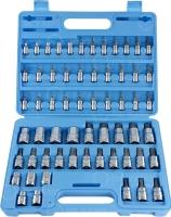 Bit sockets & E-Type sockets 60pcs