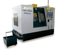 3 Axes Box Way Mechanism Vertical Machining Center