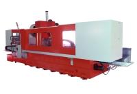線性滑軌動柱型機構/立式切削加工中心機