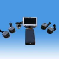 5-Cam Video Monitor Set (W/O Housing)