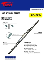 Heavy Duty Wiper Blade for Bus and Truck