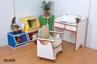 School Desks and Chairs / Toy Cabinets