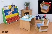 School Desks and Chairs / Bookshelves