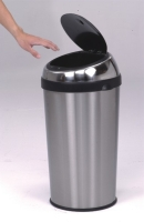 40L Conical, Sensor-Open Trash Can