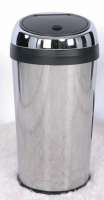 40L Conical, Touch-Open Trash Can